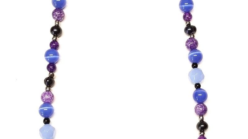 Purple Galaxy1 Necklace