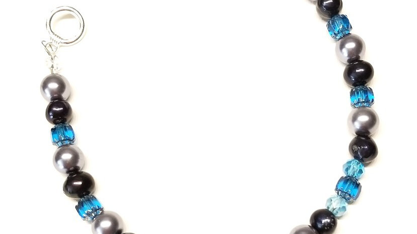 Blue Rose Elegance Bracelet