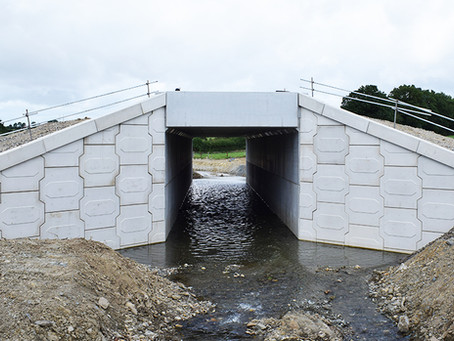 10,000M2 OF VSoL RETAINED EARTH WALLS FOR 32 STRUCTURES