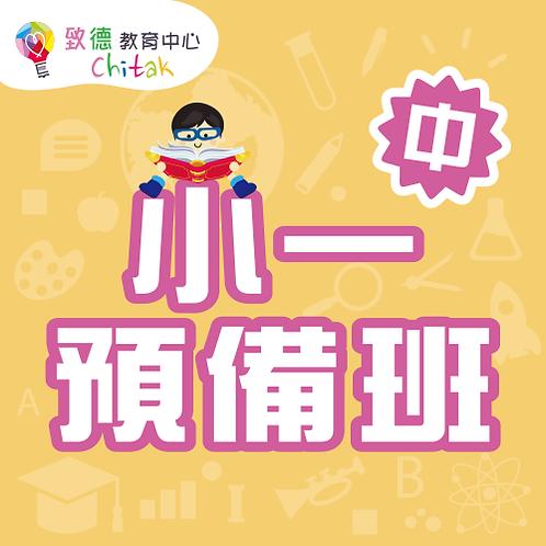 小一中文預備班—網上課程(14堂/55分鐘)