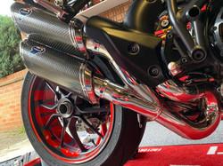 Ducati exhaust restored_