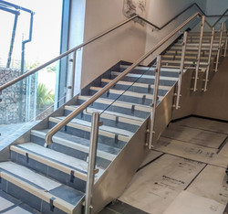 Aldi staircase satin finish.