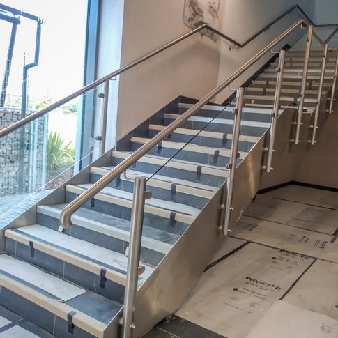Aldi Staircase to satin finish.