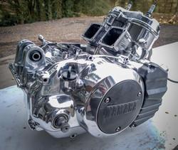 Quad bike engine restored_
