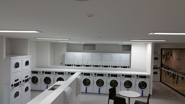 LG Laundry Lounge in New York