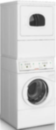 New Speed Queen stack washer with electric dryer