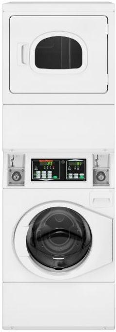 Speed Queen Stack Washer /Gas Dryer STGNXAFSP