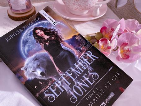 September Jones T.1 - Loups, magie & Cie de Jupiter Phaeton