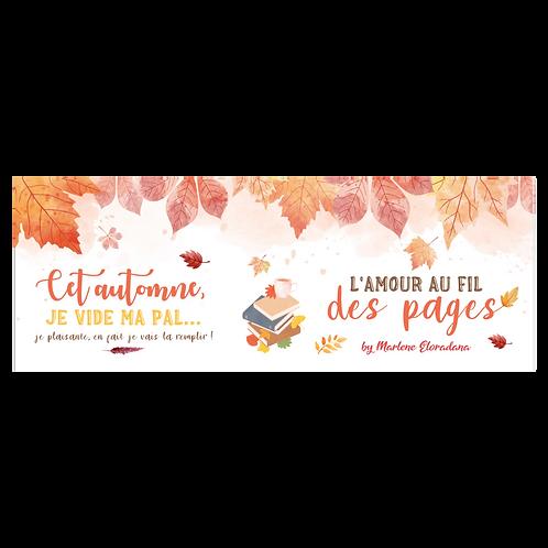Marque page d'automne
