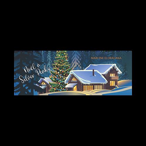 Marque page Noël à Silver Peaks