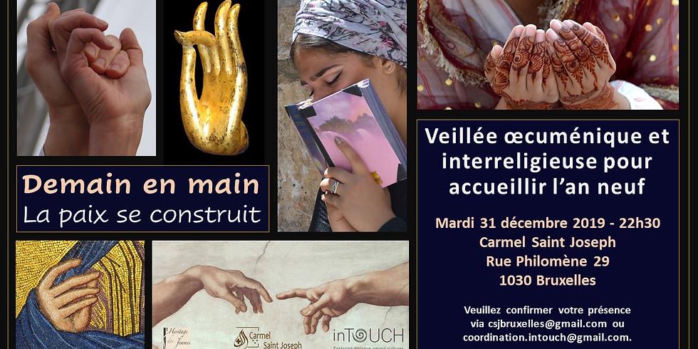 Demain en main : veillée oecuménique et interreligieuse