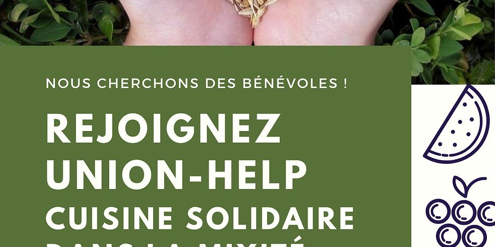 Union-Help : Cuisine solidaire dans la mixité