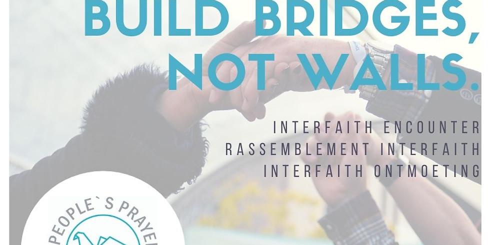 [Info réseaux] Build bridges, not walls - People's Prayer for Peace