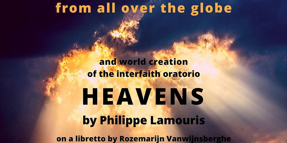 "Night of Mysticism with world creation of interreligious oratorio ""Heavens"""