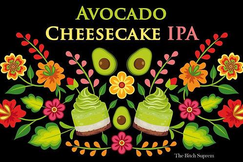 Bière Avocado Cheesecake