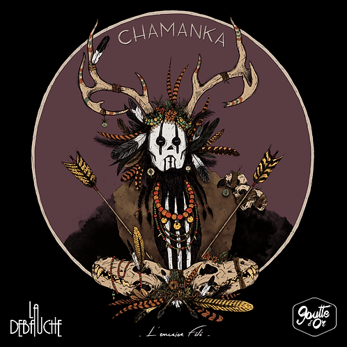 Chamanka Black Ipa 33 cl