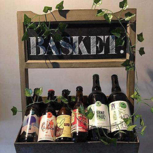 Coffret bière artisanales+ 1 bière offerte