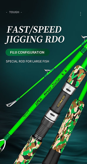 GooFish Speed Jigging PE 3-6