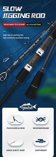 GooFish Black Slow Pitch PE 2-4