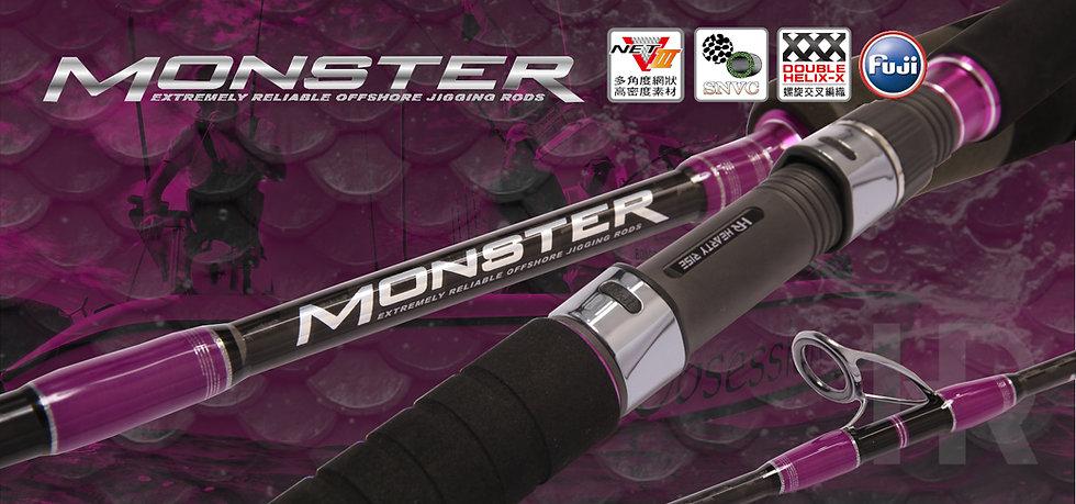 Hearty Rise - MONSTER Jigging Rod