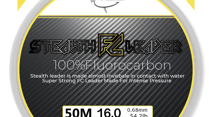 סטלס לידר -100% פלורו קרבון (50 מטר)