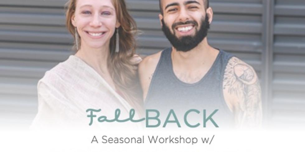 Fall Back ~ A Seasonal Workshop