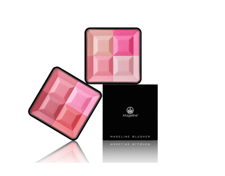 Mageline 3D Four-Color Blush Set