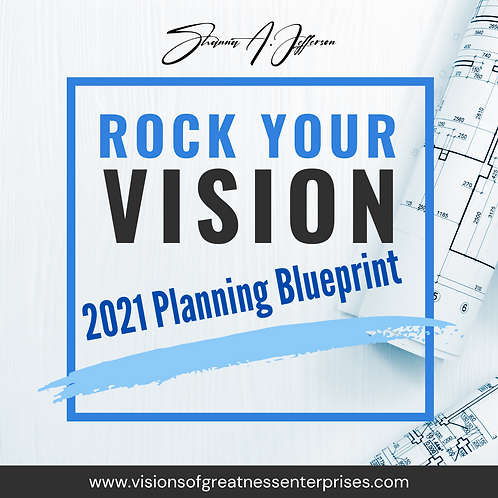 2021 Rock Your Vision Planning Guide