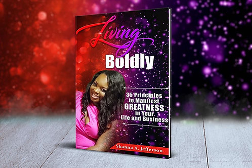 {Book Order } Living Boldly With Shanna