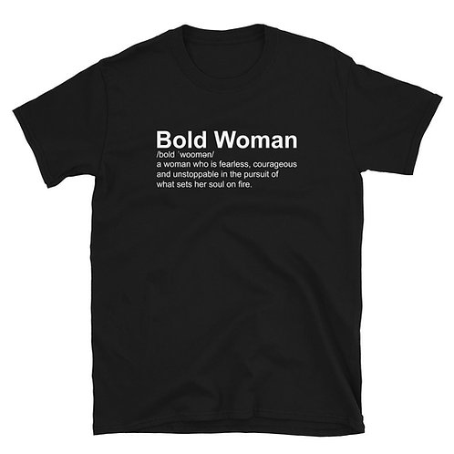 Living Boldly Definition Tee