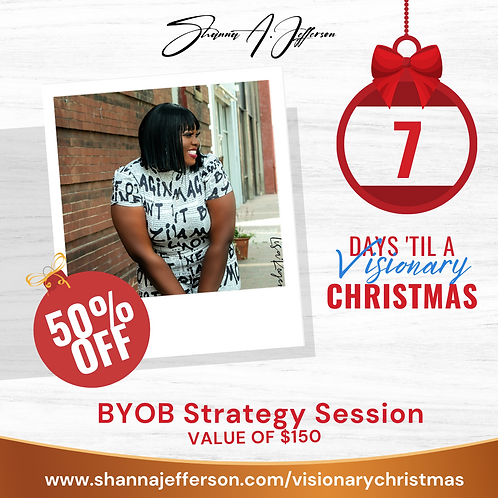 "{Visionary Christmas} ""Be Your Own Boss"" Jumpstart Session"