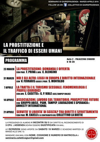Tampep al Seminario Universitario sulla Prostituzione