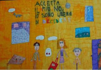 """""""Alza lo sguardo"""" corso contro la violenza di genere"""