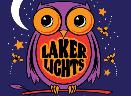 Laker Lights August 1st