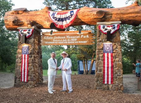 Rededication of E. Earle Jackson Memorial Park