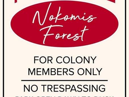 Nokomis Forest Referendum Passes