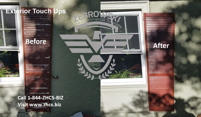 Exterior Touch Ups For The Home