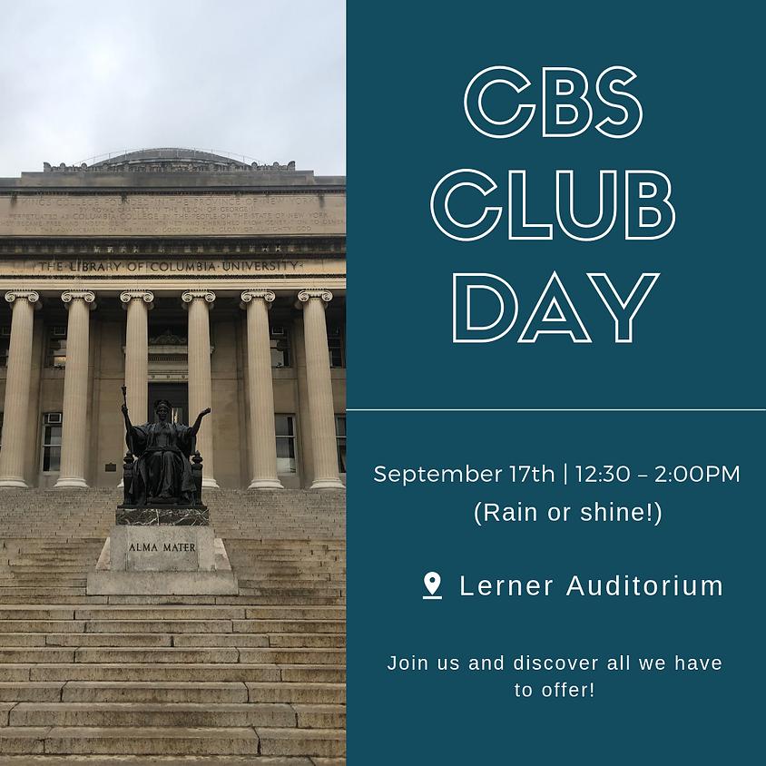 CBS Club Day