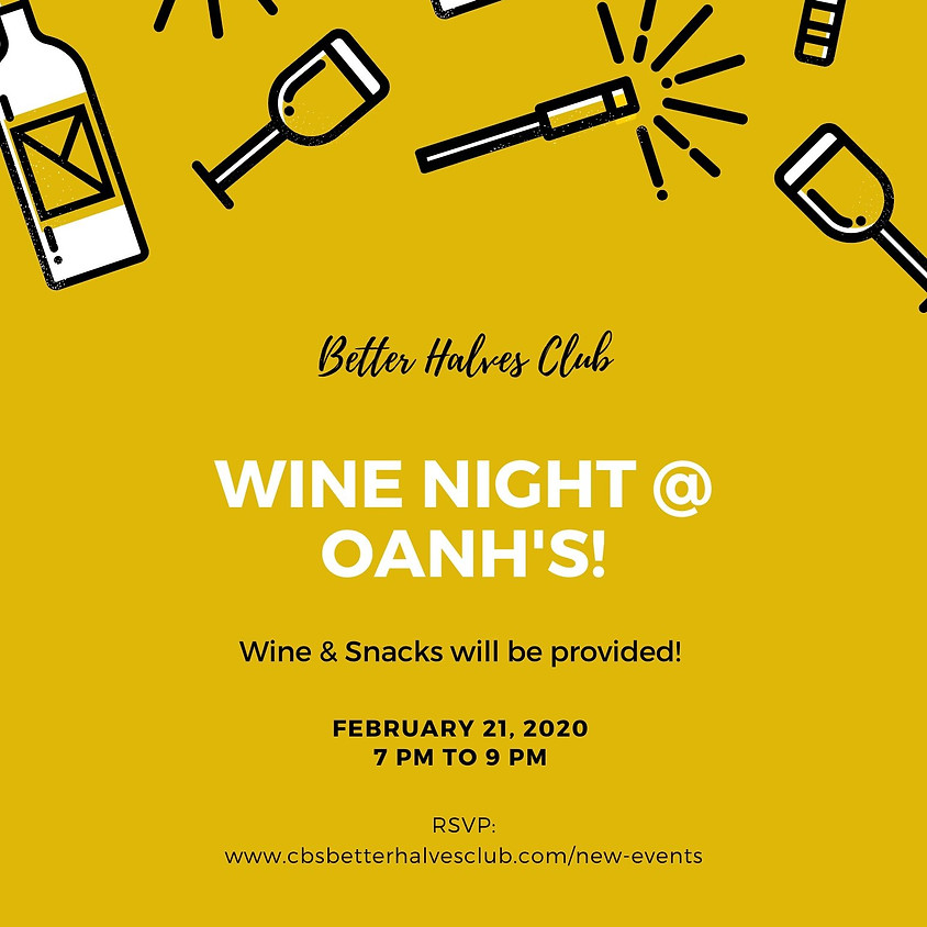 Wine Night at Oanh's!