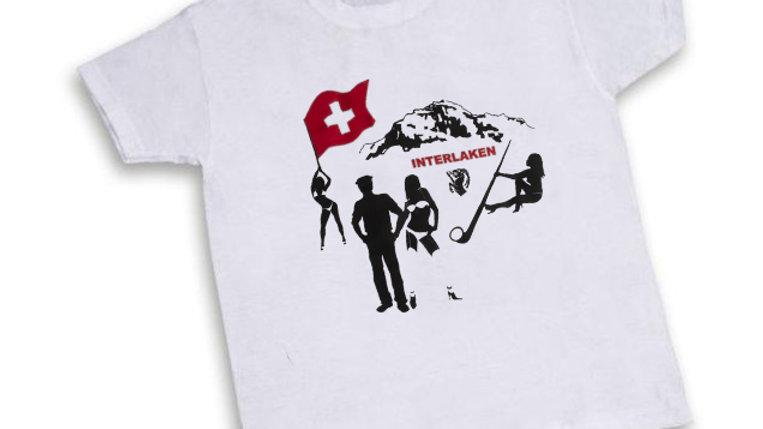 """T'Shirt weiss """"Interlaken"""""""