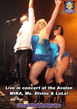 Mika Divine LoLo in Concert
