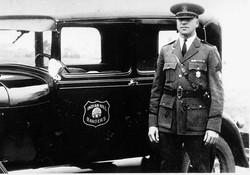 Capt Black at car