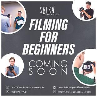 Coming Soon - 3. Saplings - Filming for