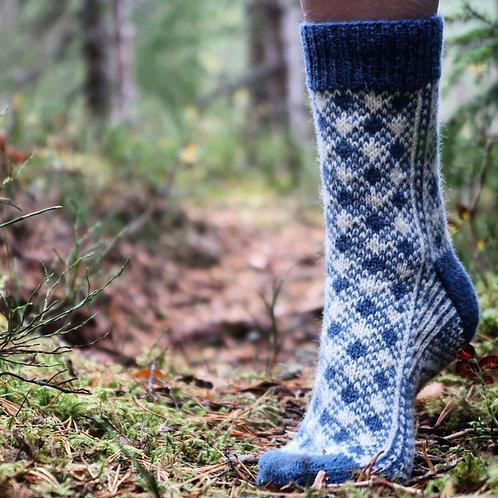 Selbu Sock Design 3