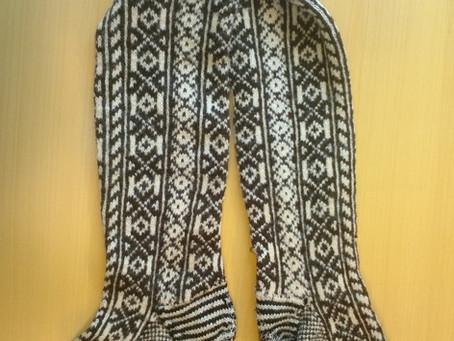 Selbu Socks - An extra week of knitting!