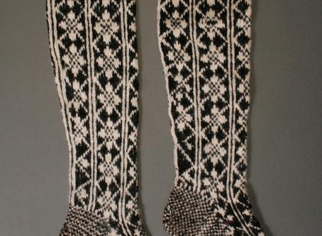 Selbu Sock Course Pattern!