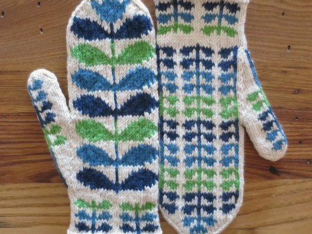 """Selbu """"style"""" Mitten KAL - Orla Mittens - KAL Zoom Live Check-in!"""