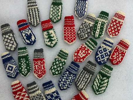 Free Pattern! Selbuvotter Advent Calendar