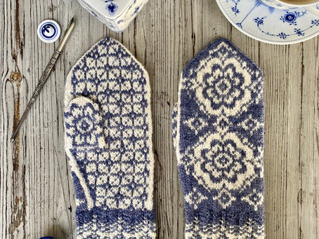 """Selbu """"style"""" Summer KAL - Share your mitten plan + a download for you!"""