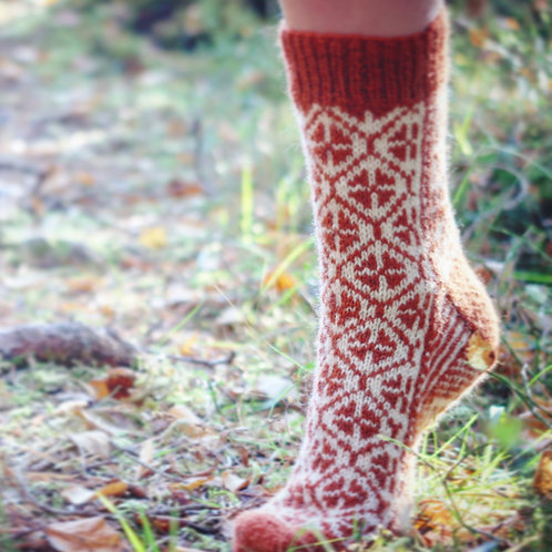 Selbu Sock Design 4